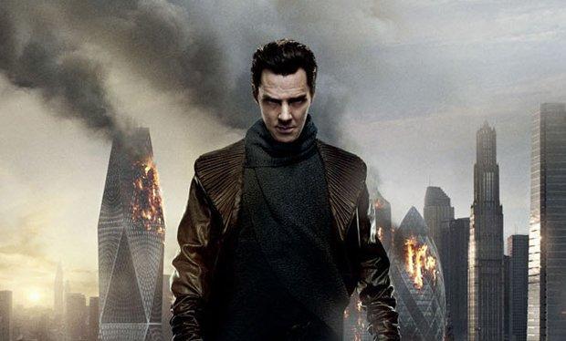 Benedict Cumberbatch succeeds Ricardo Montalban as Khan in Star Trek: Into Darkness.