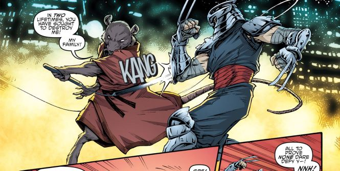 Master Splinter vs. Master Shredder