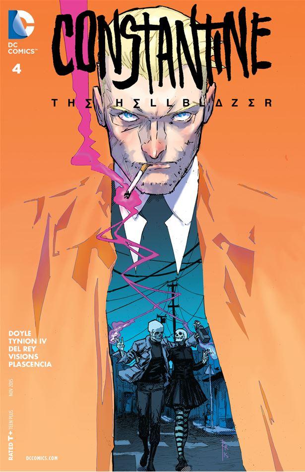 Constantine The Hellblazer 04 01