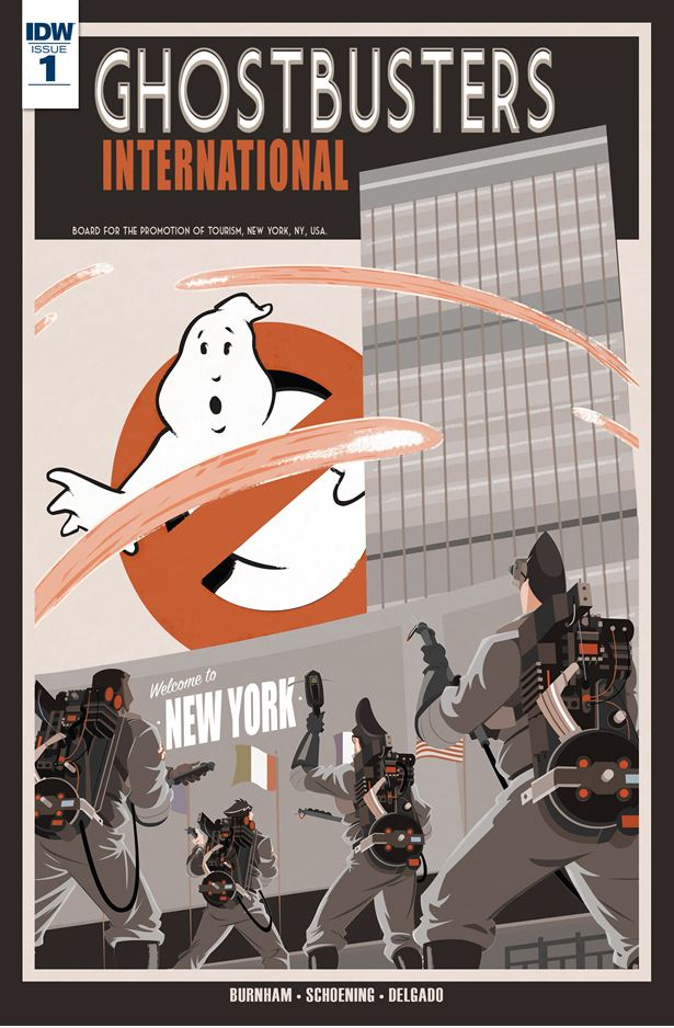 Ghostbusters International 01