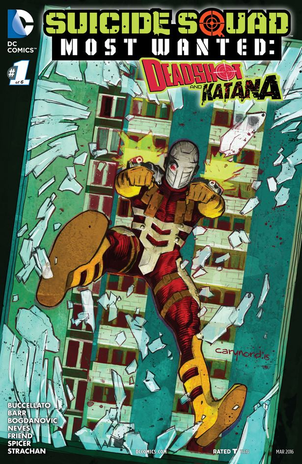 Suicide Squad Most Wanted Deadshot and Katana 01